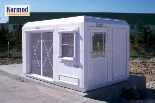 Casas container Ecuador, Kioscos de venta en quito