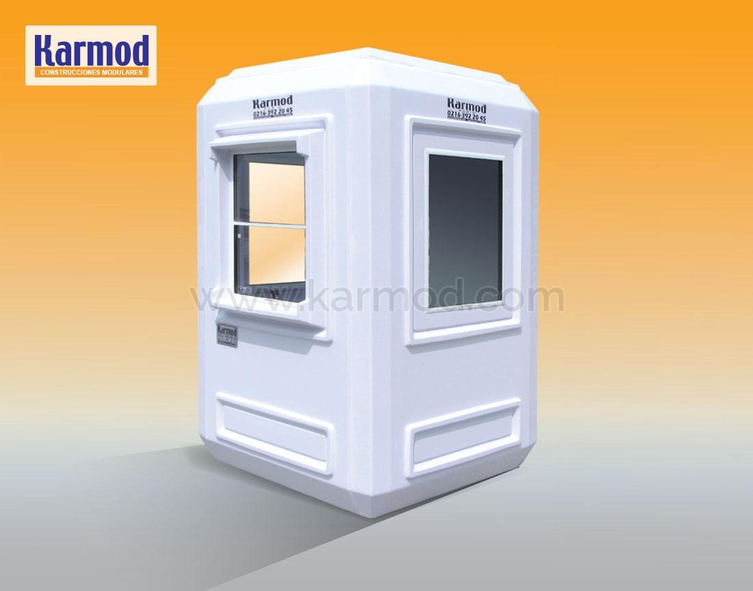 cabinas de seguridad prefabricadas