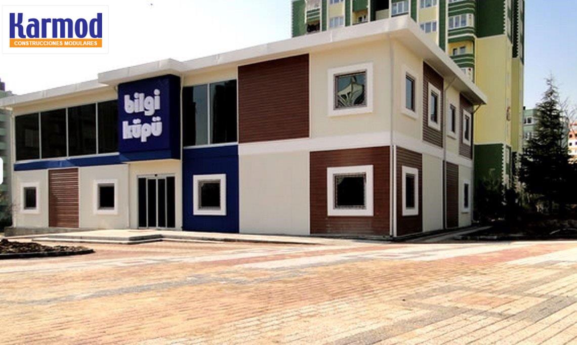 Construcciones modulares for Construccion de oficinas modulares