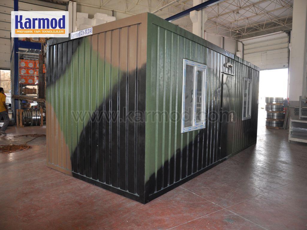 Canil Container para Fins Militares