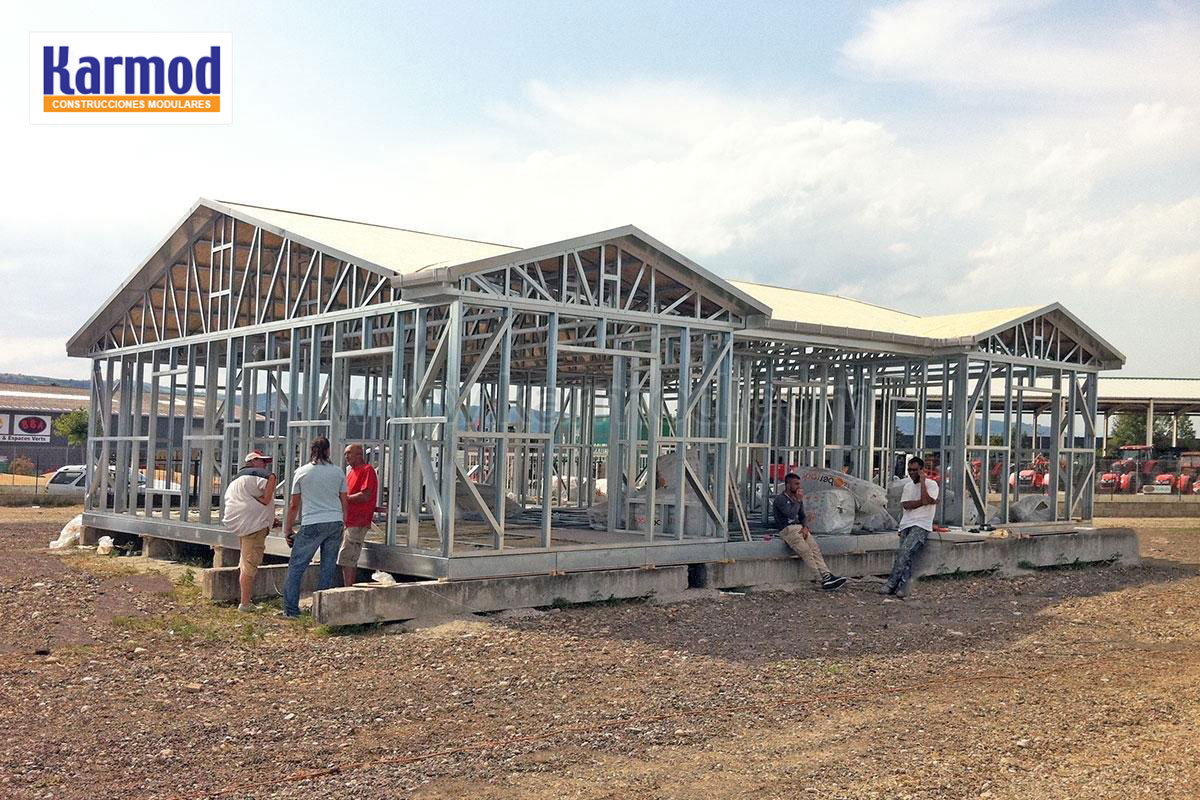 Casas prefabricadas mexico casas de interes social karmod - Casas modulares de acero ...
