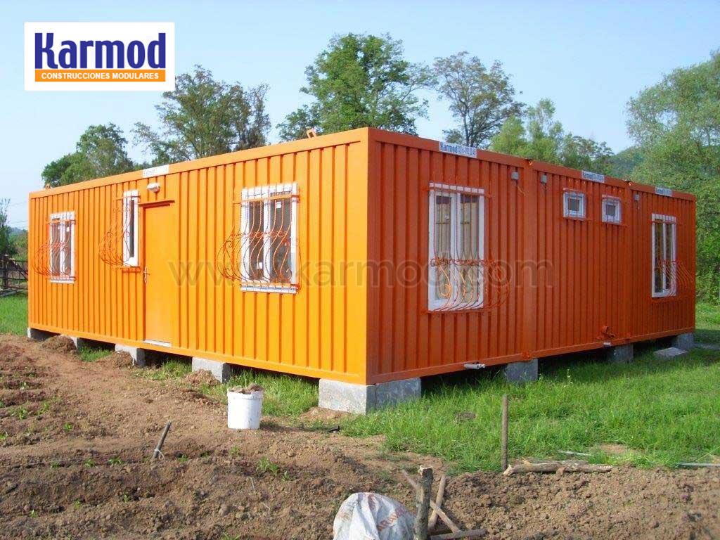 Casetas de obra modulos prefabricados contenedores karmod for Casetas pvc segunda mano