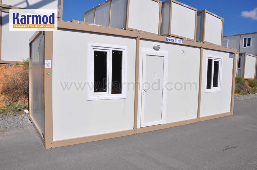 Casetas de obra modulos prefabricados contenedores karmod for Casetas obra baratas