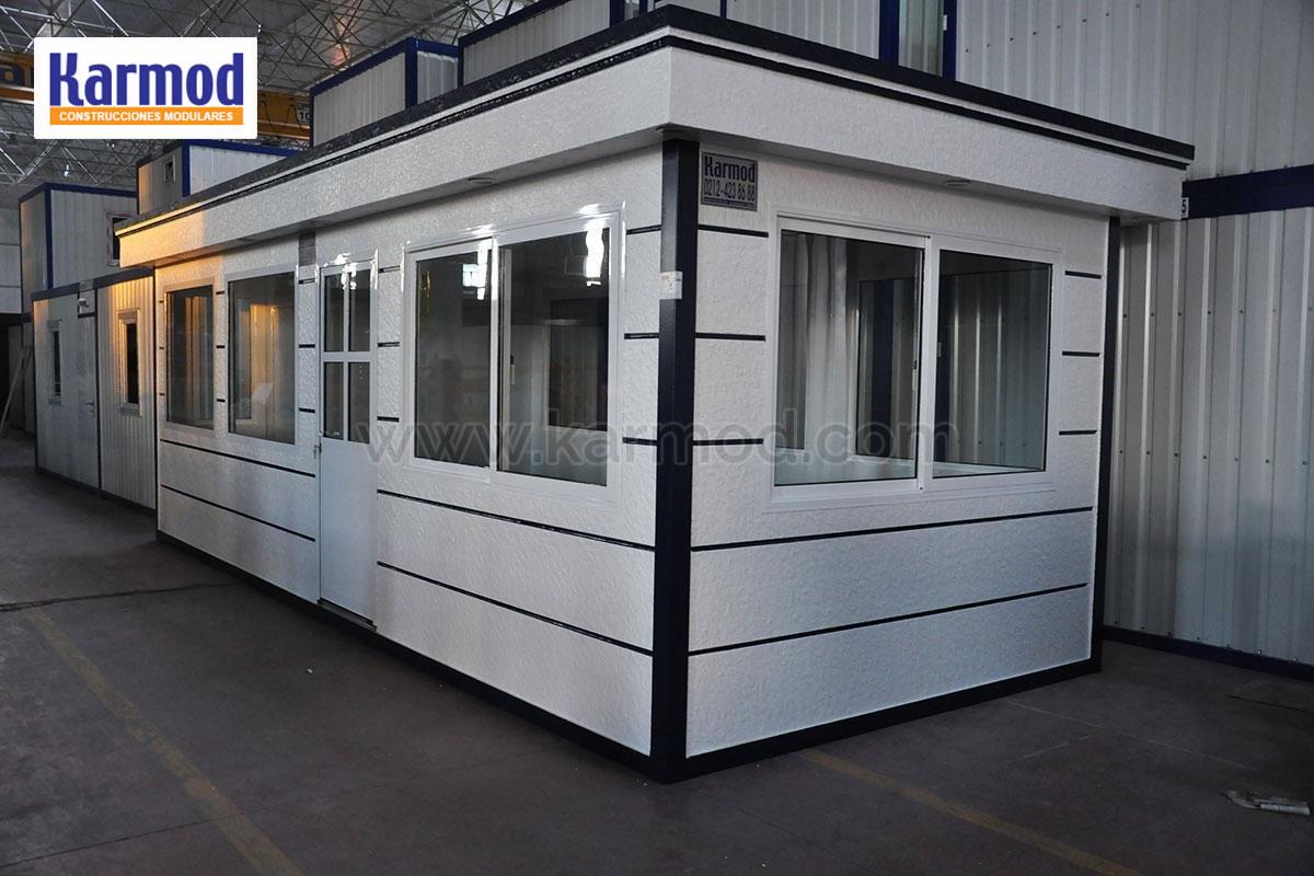Casetas prefabricadas de obra modulos prefabricados karmod for Casetas de chapa galvanizada precios