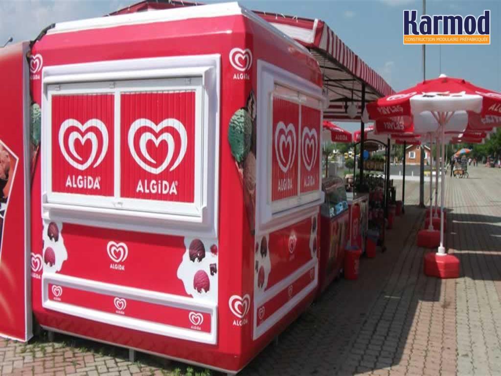 Kioscos en venta caseta de vigilancia cabinas de control for Casetas segunda mano