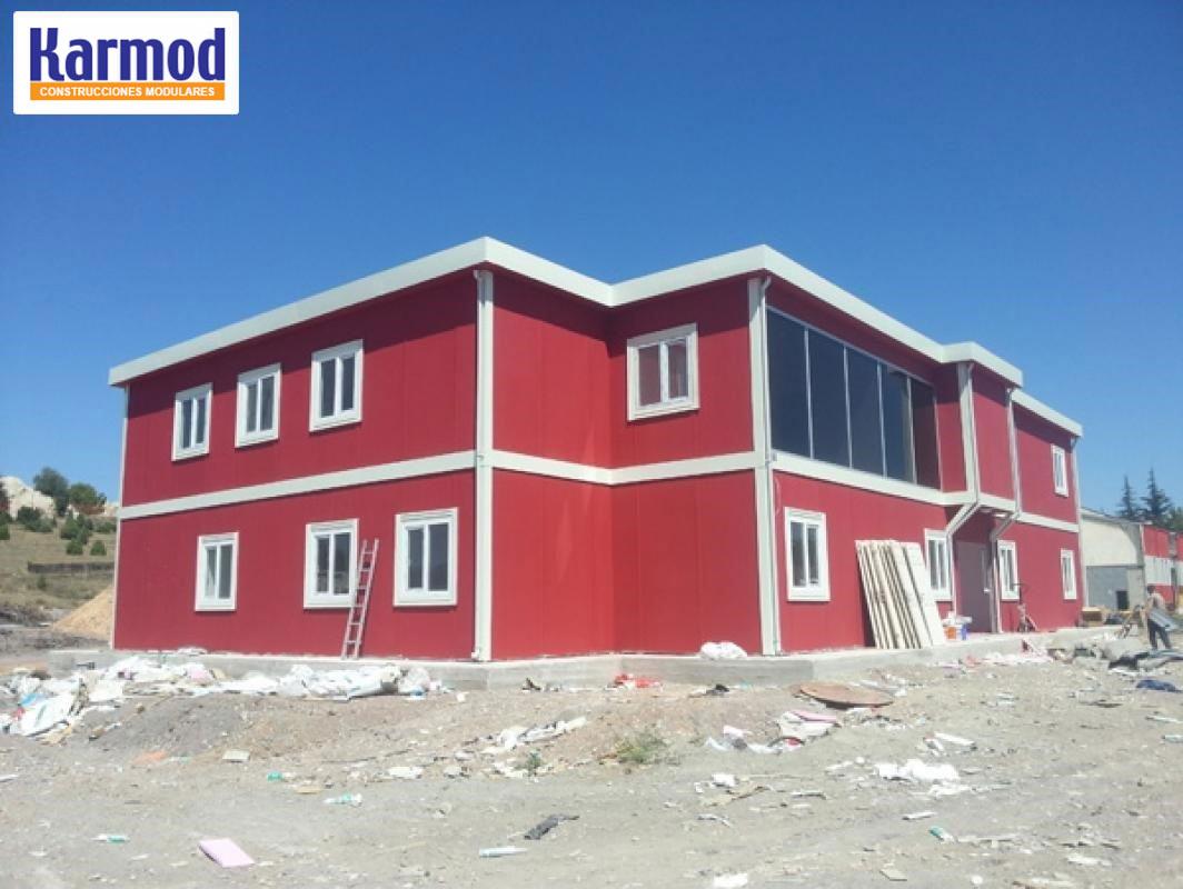Oficinas modulares para naves oficinas prefabricadas for Modulos oficinas prefabricados