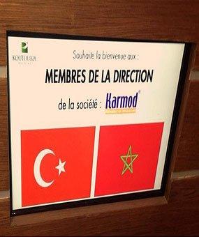 Una visita a Koutoubia con el gigante fabricante de alimentos marroquí