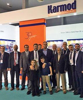 Karmod, dio la bienvenida a sus invitados de 123 países a la Feria MUSIAD 2016