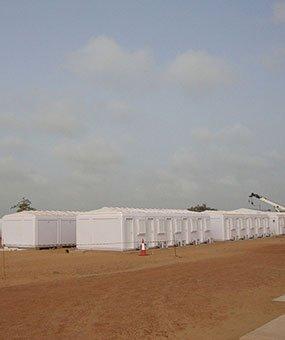 Instalación de Cabinas Modulares Administrativas realizadas en Senegal