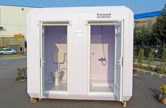 Aseo Químico para Ducha y WC Portátil de 150x270