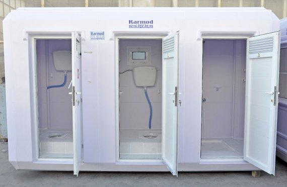 Aseo Químico WC - Ducha de 150x390
