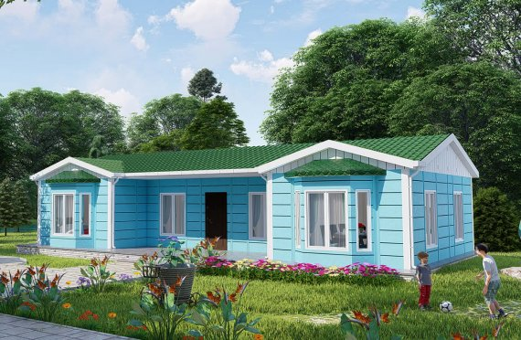Casa prefabricada 97 m2