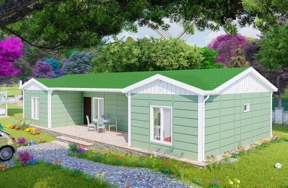 Casa prefabricada 102 m2