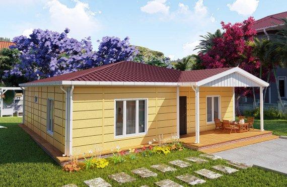 Casa prefabricada 103 m2