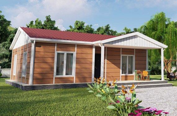 Casa prefabricada 75 m2