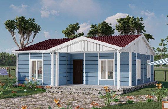 Casa prefabricada 82 m2