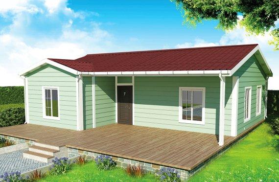 Vivienda Prefabricada de 86 m²