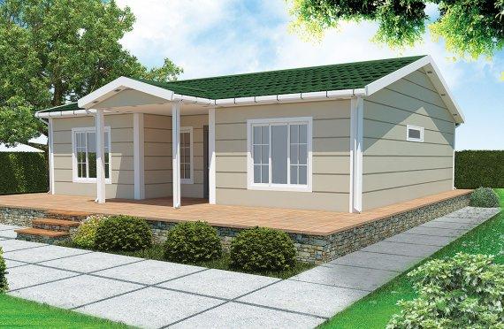 Vivienda Prefabricada de 94 m²