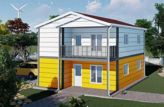 Casas prefabricadas baratas 137 m2
