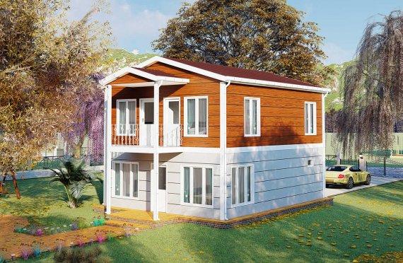 Casas prefabricadas baratas 126 m2