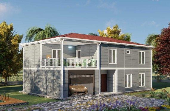 Casas prefabricadas baratas 206 m2