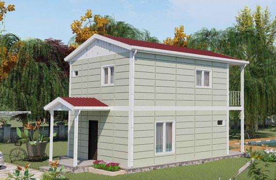 Casas prefabricadas baratas 91 m2