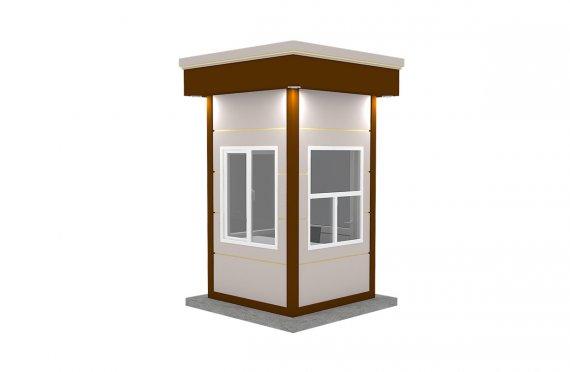 Kioscos Modernos de Madera de 150x150