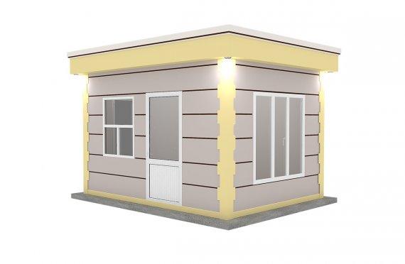 Kioscos Modernos de Madera de 300x400