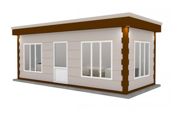 Kioscos Modernos de Madera de 300x700