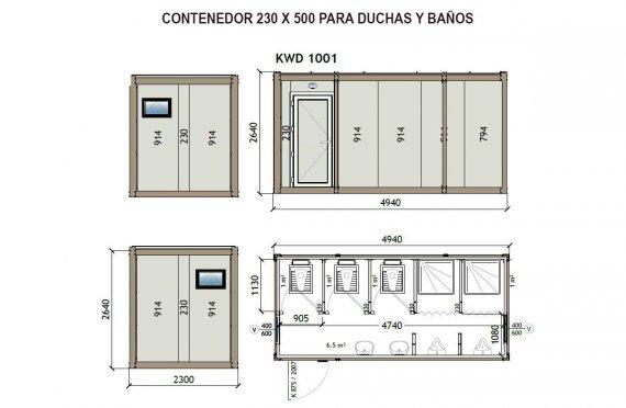 Cabinas Sanitarias prefabricadas | Baño y Aseos Prefabricados