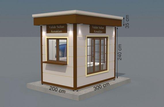 Kioscos Modernos de Madera de 200x300