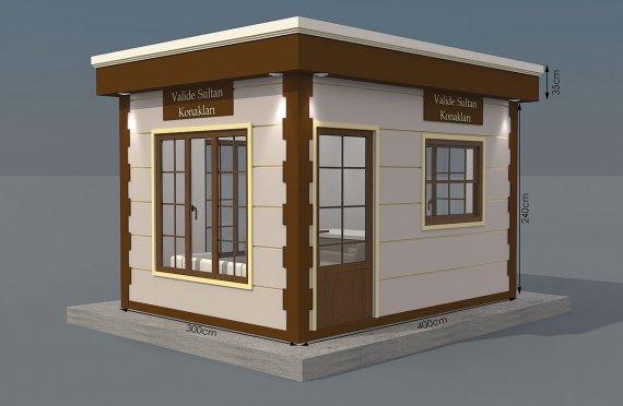 Kioscos Modernos de Madera de 300x300