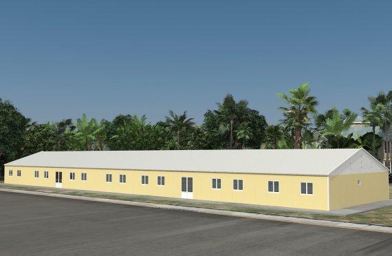 Aula Portátil de 681 m²