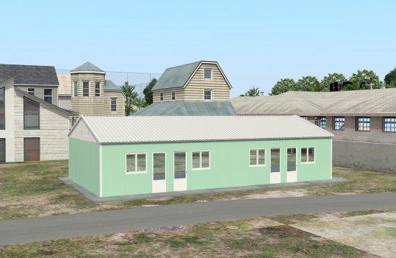 Campamento Modular de 117 m²