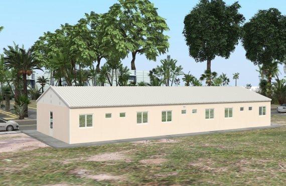Campamento Modular de 204 m²