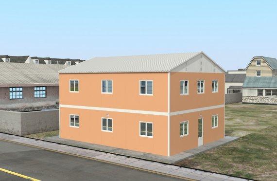 Campamento Modular de 206 m²
