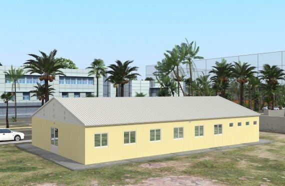 Campamento Modular de 232 m²
