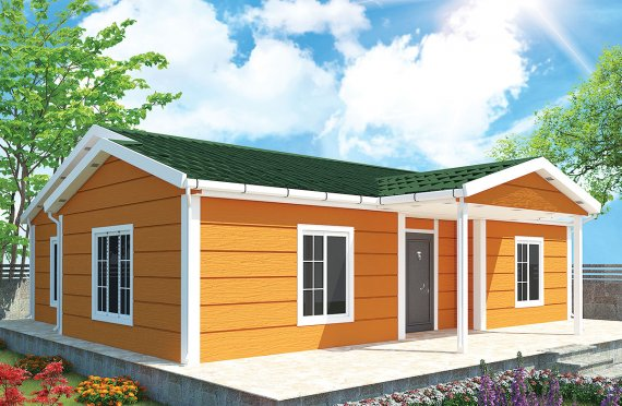 Vivienda Prefabricada de 102 m²