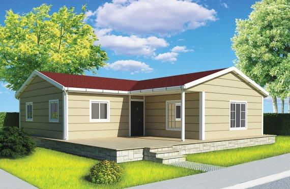 Vivienda Prefabricada de 107 m²
