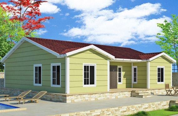 Vivienda Prefabricada de 126 m²