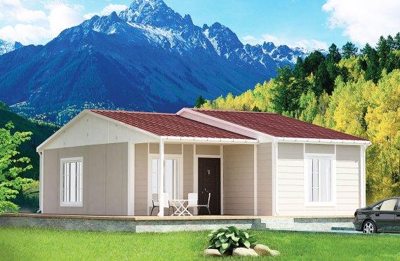 Vivienda Prefabricada de 61 m²
