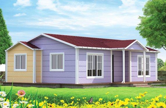 Vivienda Prefabricada de 71 m²