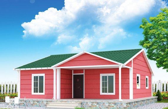 Vivienda Prefabricada de 82 m²