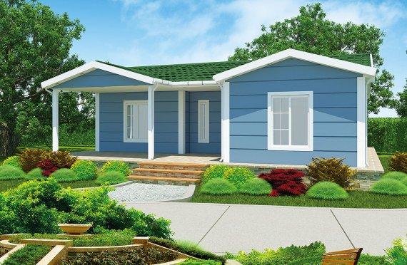Vivienda Prefabricada de 87 m²