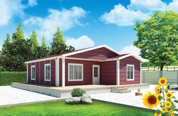 Vivienda Prefabricada de 88 m²