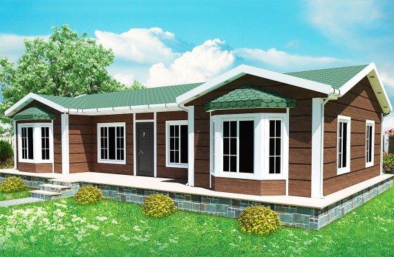 Vivienda Prefabricada de 97 m²
