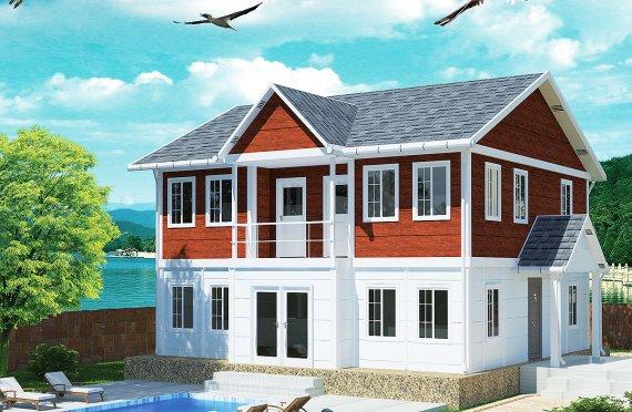 Casa Prefabricada de 125 m²
