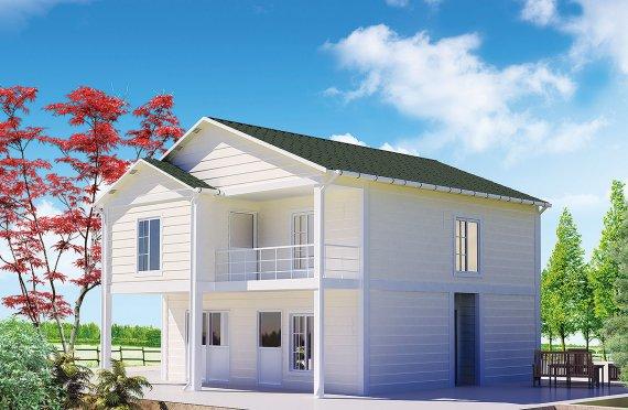 Casa Prefabricada de 130 m²
