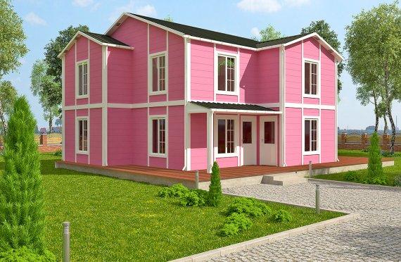 Casa Prefabricada de 147 m²