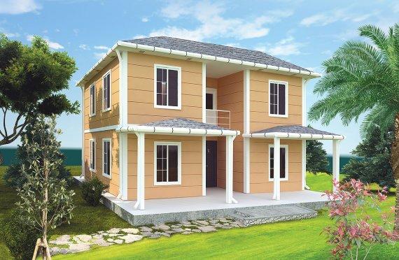 Casa Prefabricada de 148 m²